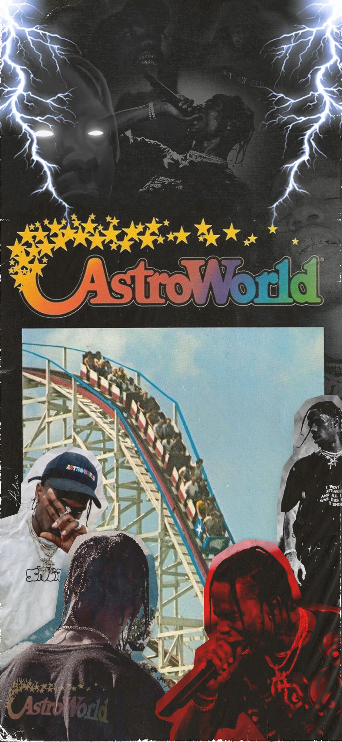 Travis Scott Astroworld Iphone Wallpaper With images Travis 1125x2436