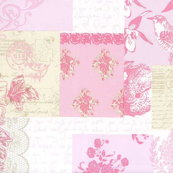Love Letters   Coloroll Love Letters M0816   Select Wallpaper 600x600