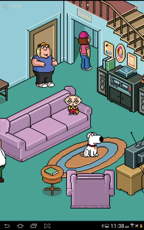 Family Guy Live Wallpaper   screenshot 562x900