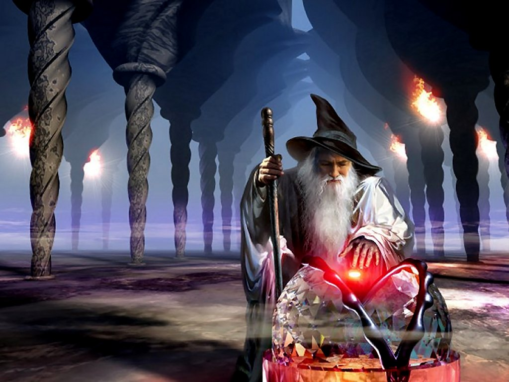 Wallpaper of the day Wizard Wizards