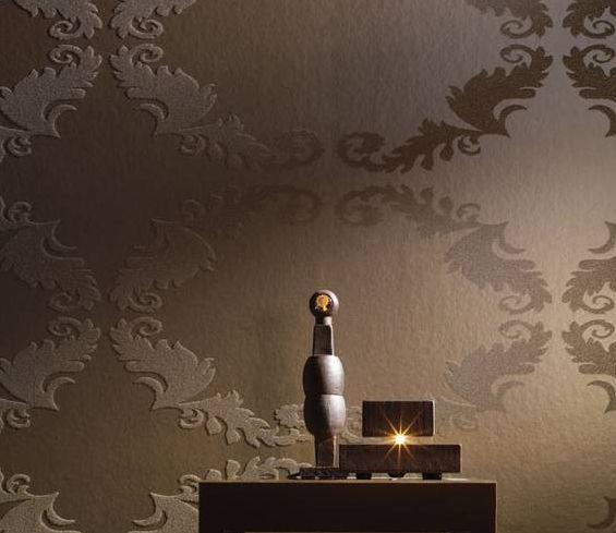 Luxury Walls   Glass Bead Wall Paper [ILW Room Setting] Designer 565x489