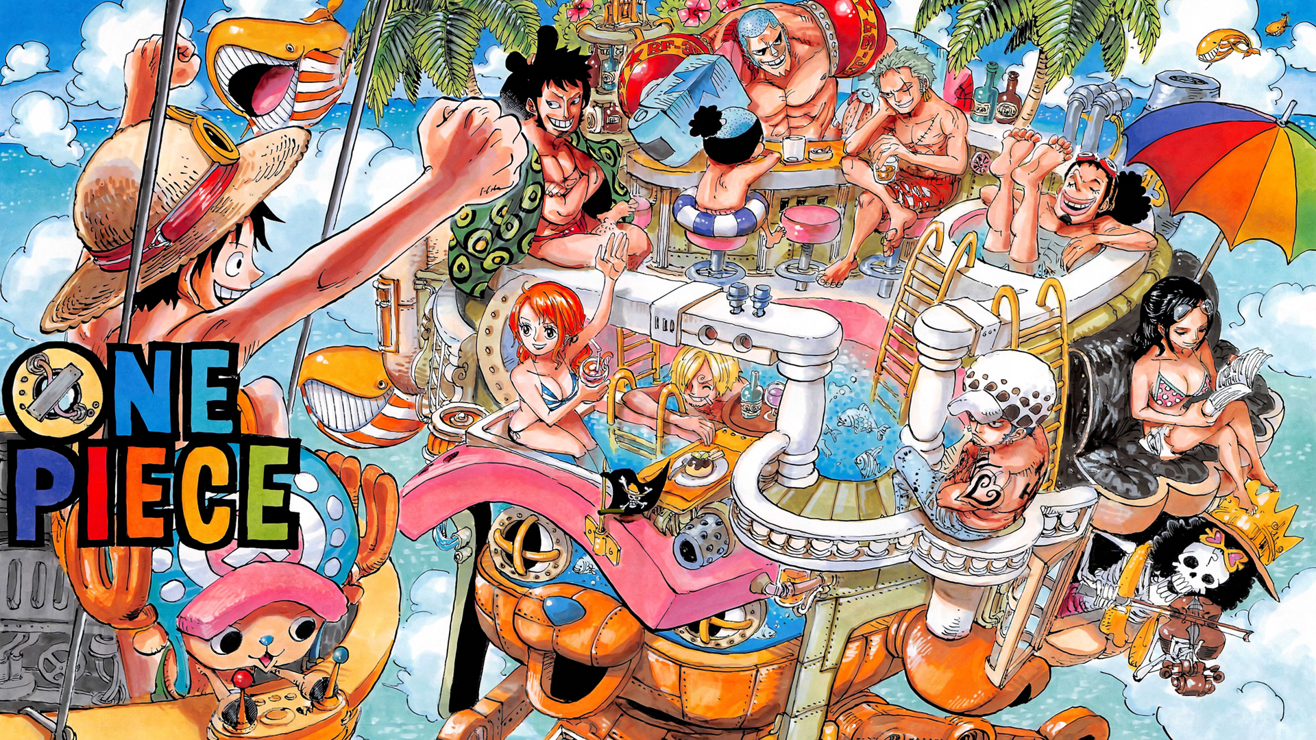 One Piece Two Years Later wallpaper 1920x1080 132440 WallpaperUP 1920x1080