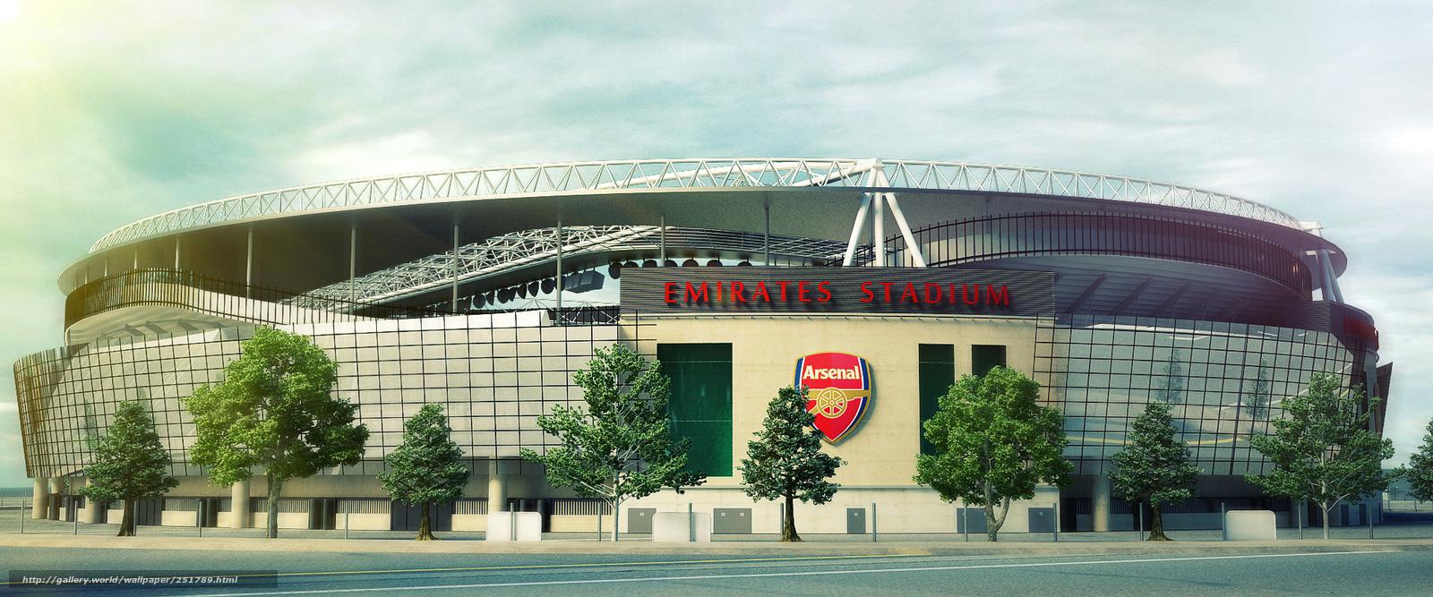 wallpaper Emirates Stadium Arsenal London desktop wallpaper 1600x667