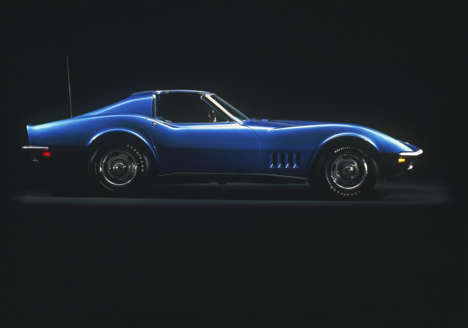 Corvette Stingray 1969 >> Corvette C3 Wallpaper - WallpaperSafari
