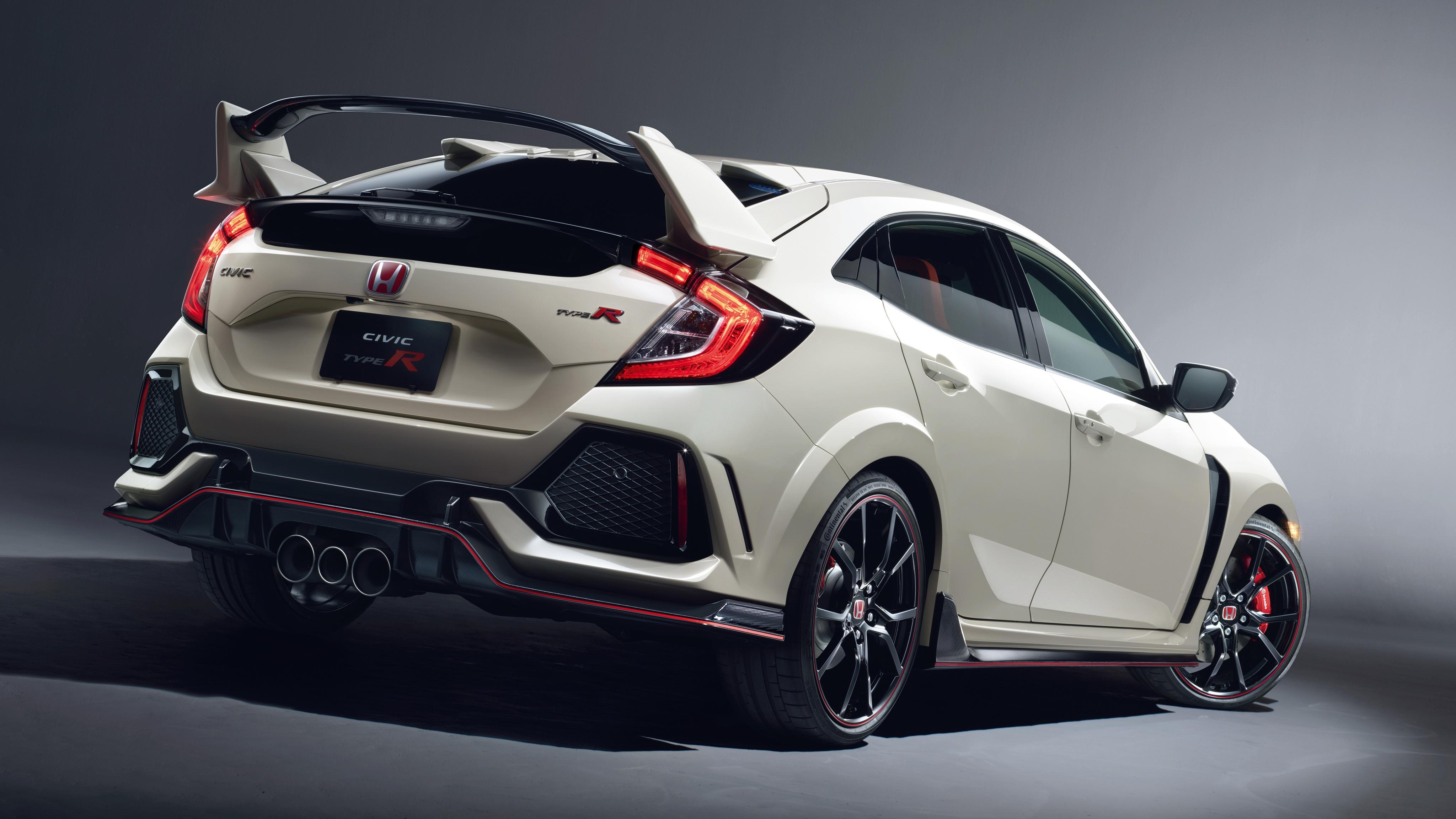 2017 Honda Civic Type R 4 Wallpaper HD Car Wallpapers 4096x2304