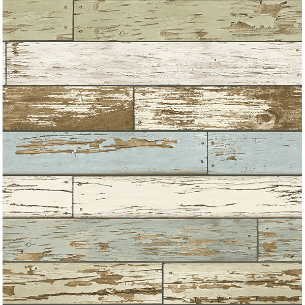 Weathered Texture Sky Blue Scrap Wood   Wallpaper by A   Streets 600x600
