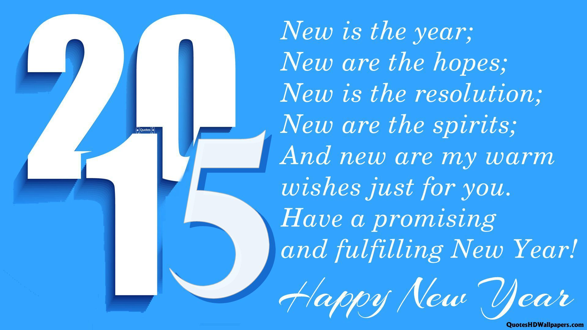 Happy New Year 2015 Greetings Wallpaper 6717 Wallpaper computer 1920x1080