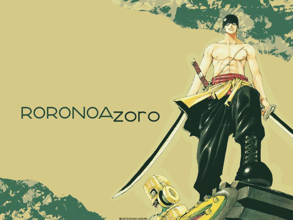 76 Roronoa Zoro Wallpapers On Wallpapersafari