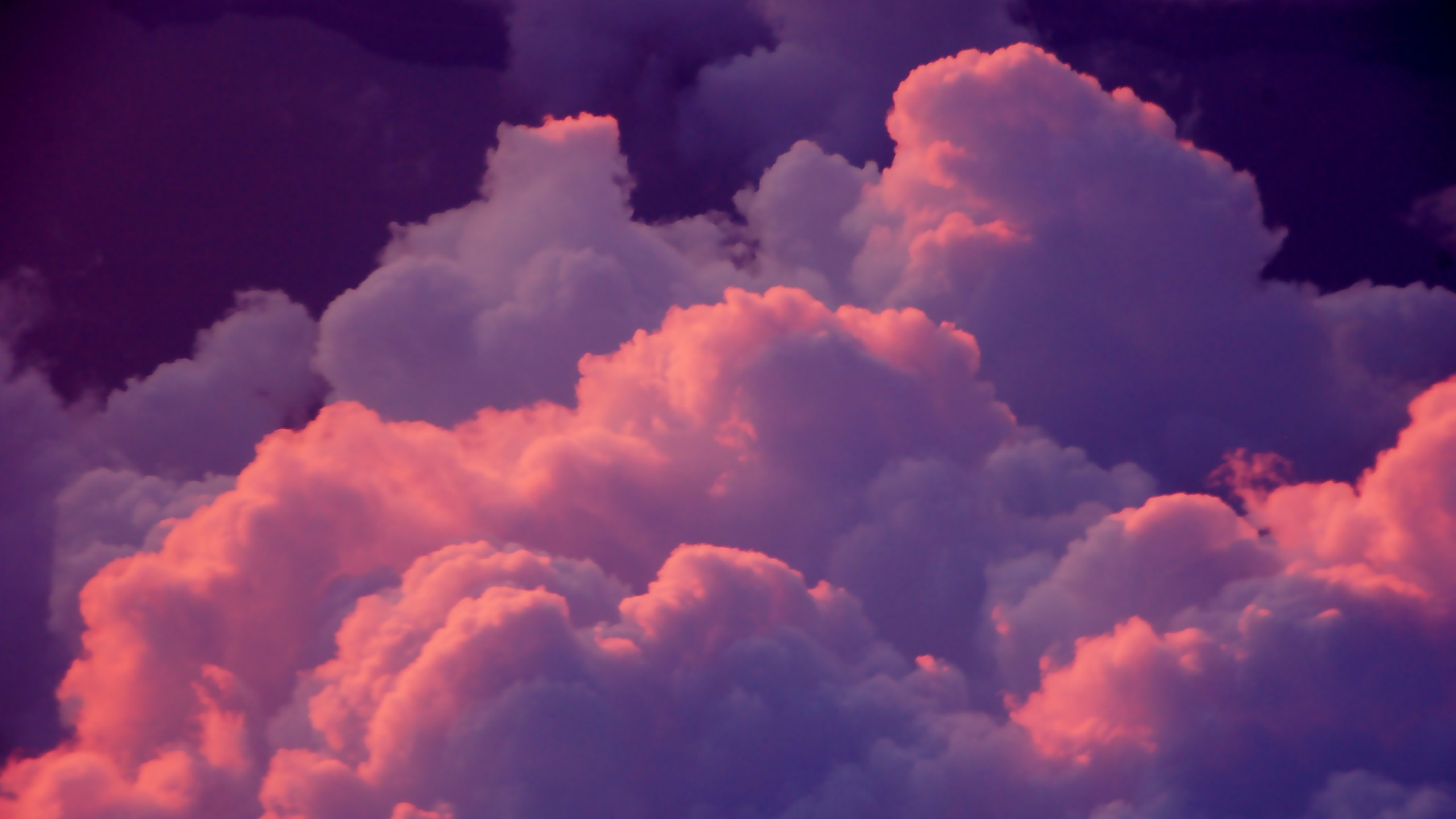 Pink and purple clouds x post rWQHD wallpaper [2560x1440] iimgur 2560x1440