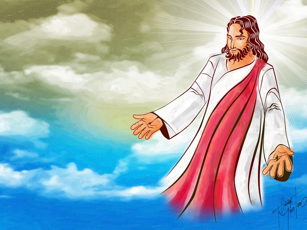 Ворде, картинка иисус с надписью