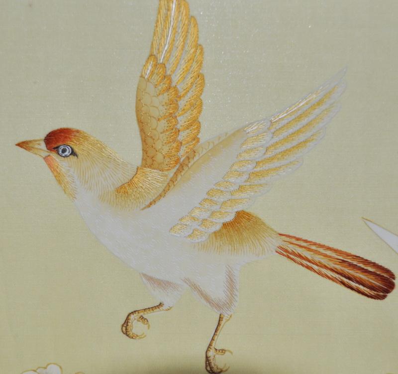 hand painted wallpaper chinoiserie wallpaper silk wallpaper 800x751