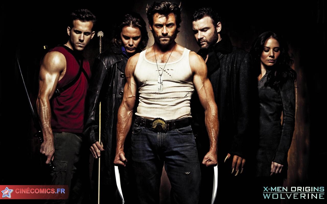 X Men Origins Wolverine Gambit Sabertooth Deadpool Wallpaper 1280x800