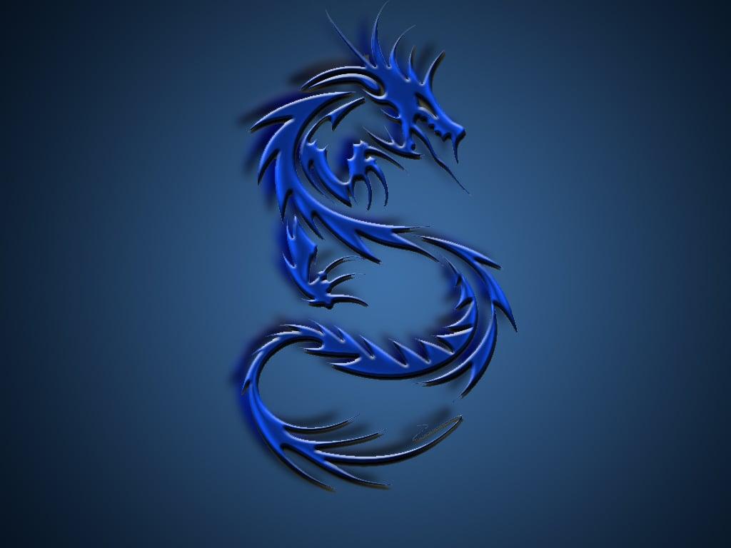 blue dragon wallpaper hd wallpapersafari