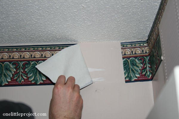 How to remove a wallpaper border 600x400
