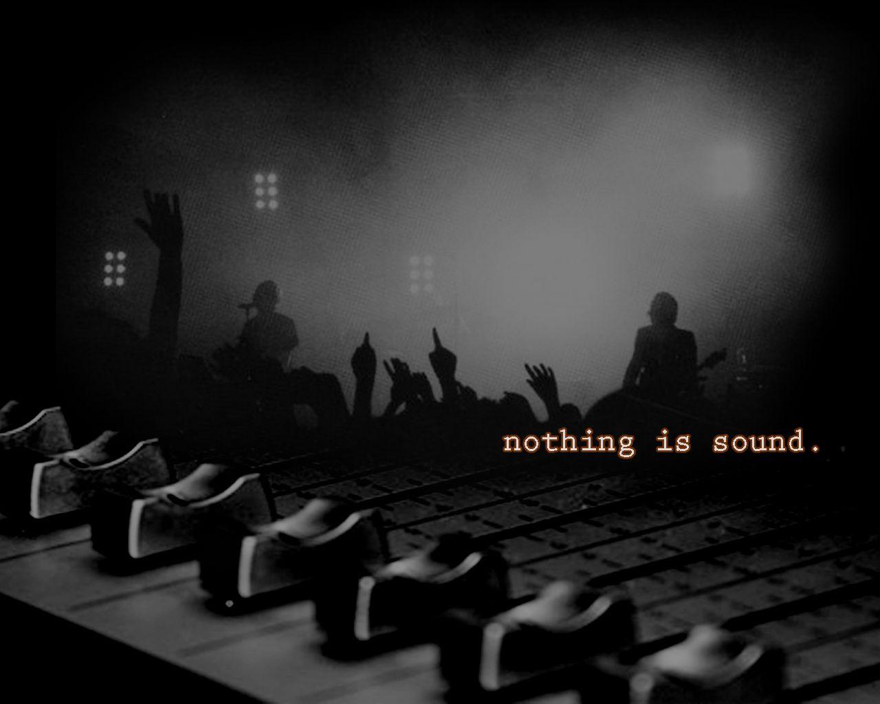 Nothing Is Sound Wallpaper Image Wallpaper WallpaperLepi 1280x1024
