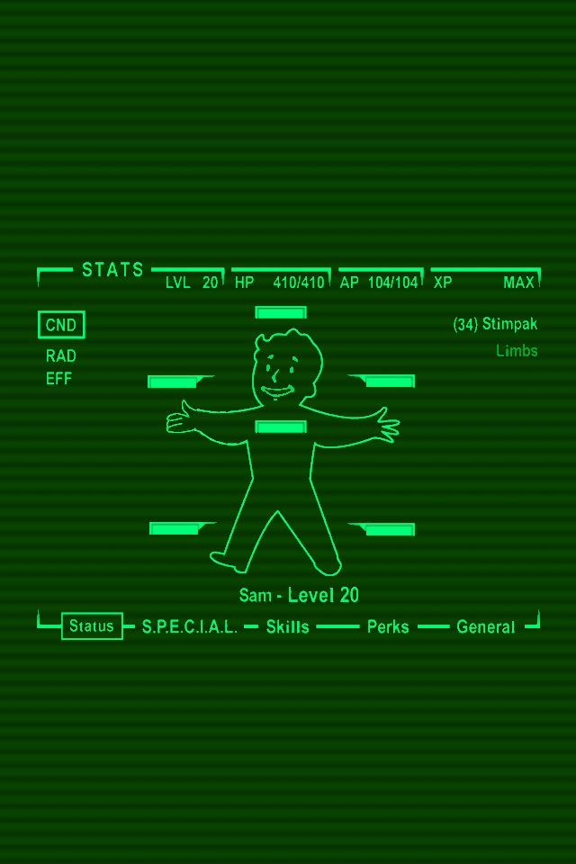 pipboy 3000 live wallpaper
