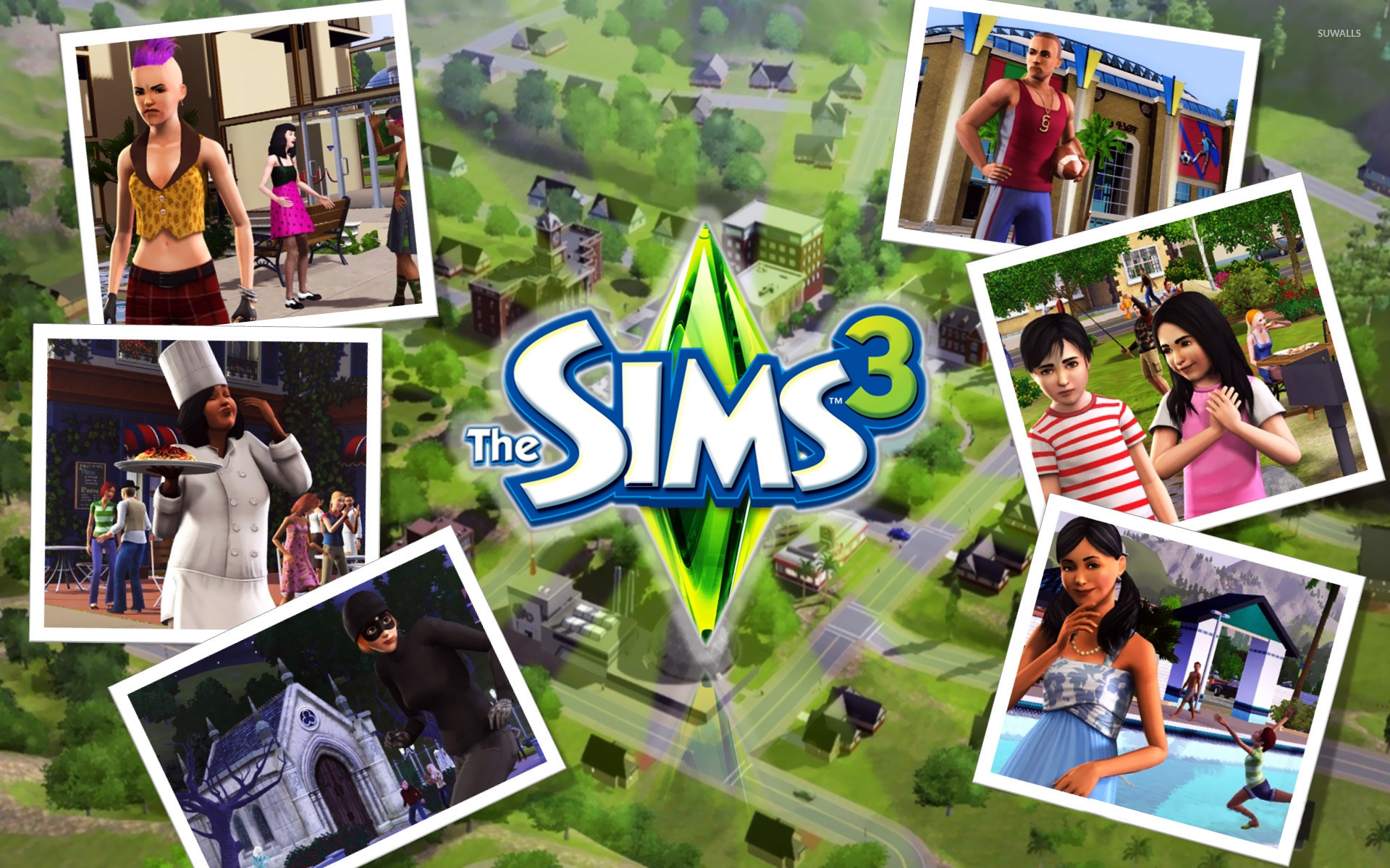 The Sims 3 wallpaper   Game wallpapers   24867 1920x1200