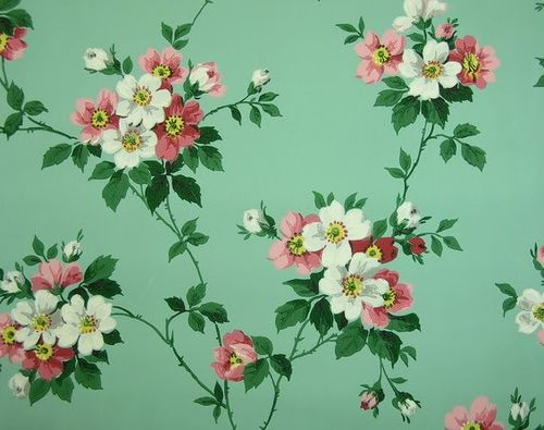 floral pattern wallpaper tumblr bing images more vintage wallpapers 500x395