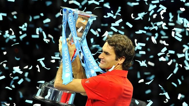 ATP World Tour Finals 2010 Winner Roger Federer 650x366