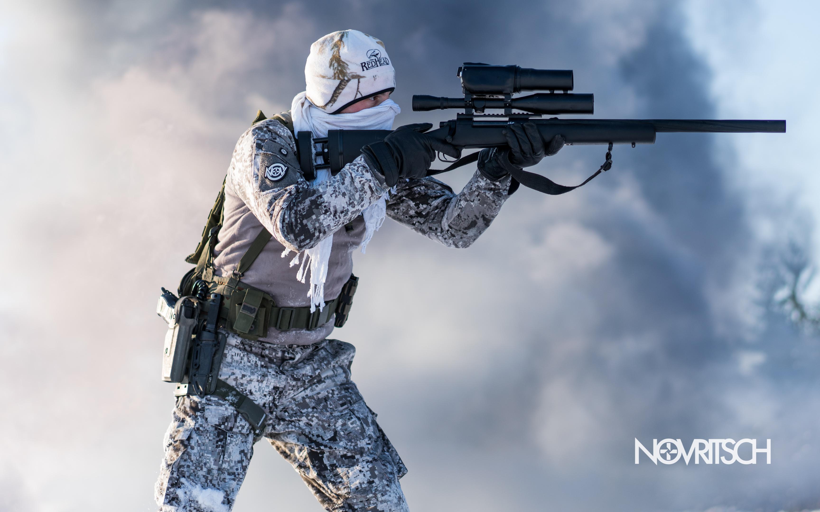 Wallpaper 03   Novritsch Airsoft Sniper 3456x2160