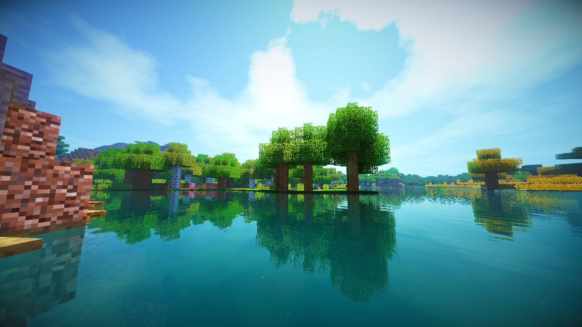 Free Download Minecraft Shaders Wallpapers Hd Desktop And Mobile