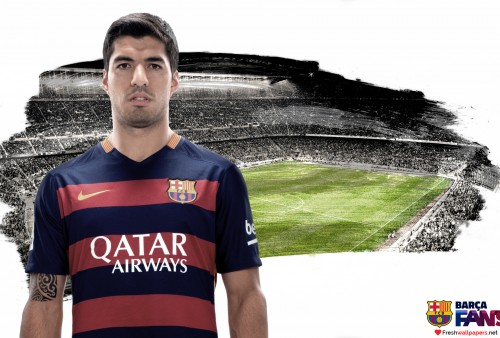 Luis Suarez 2015 2016 FC Barcelona wallpapers Freshwallpapers 500x338