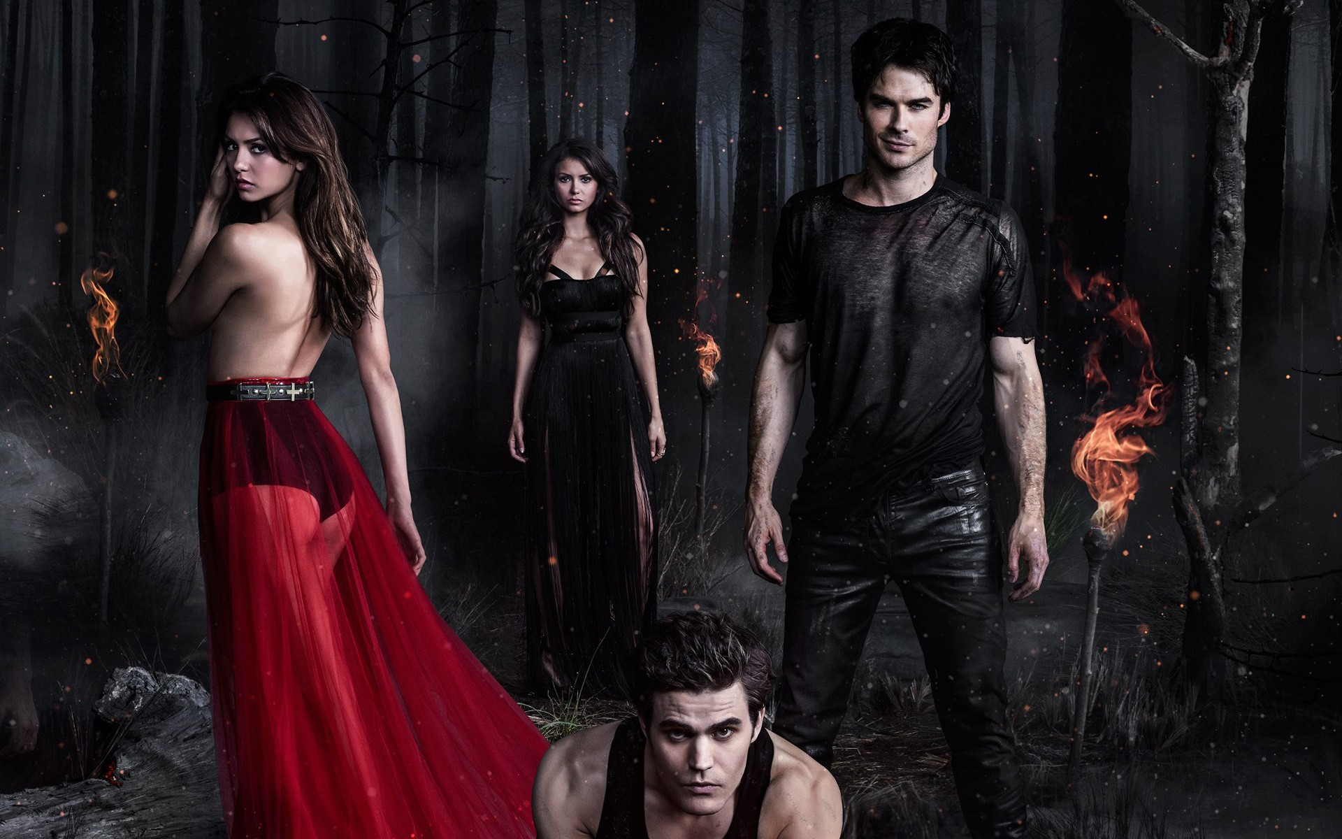 78 The Vampire Diaries HD Wallpapers | Backgrounds - Wallpaper Abyss