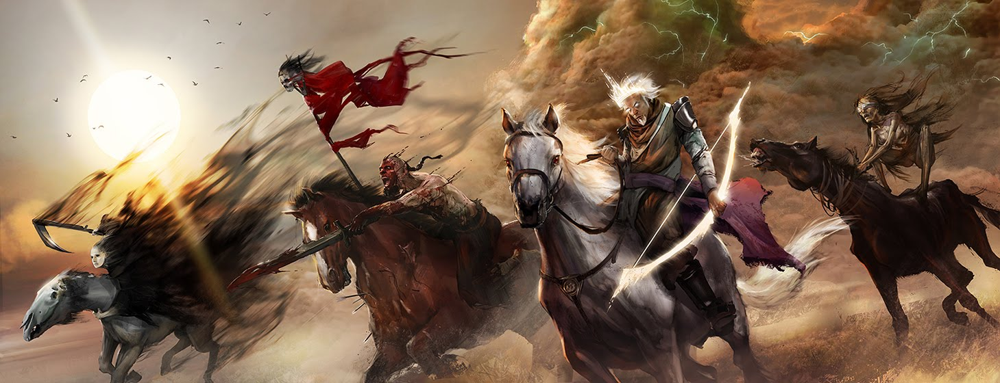 Super Punch The Four Horseman of the Apocalypse 1459x560