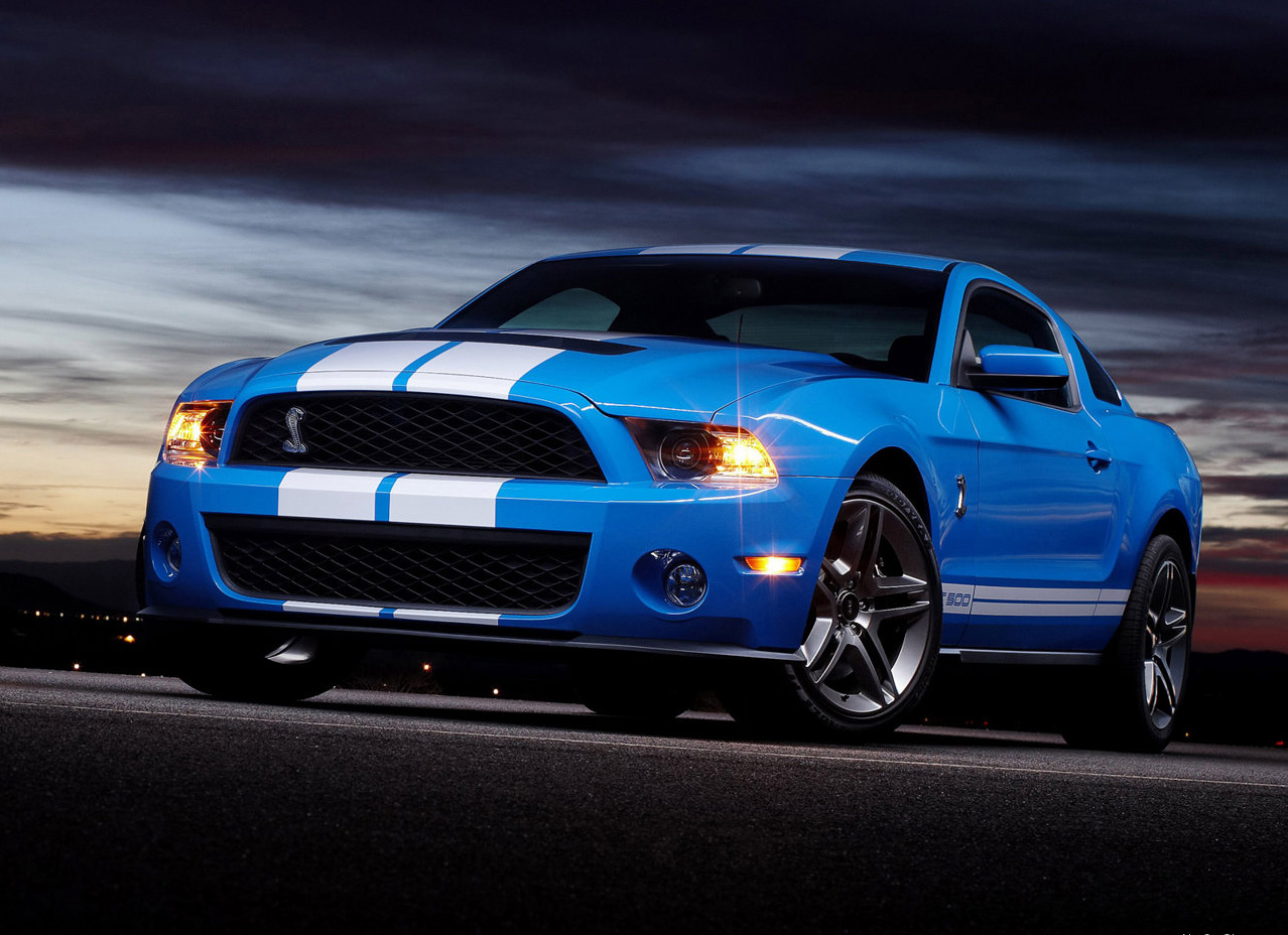 ford mustang in blue wallpaper ford mustang wallpaper 1278x928