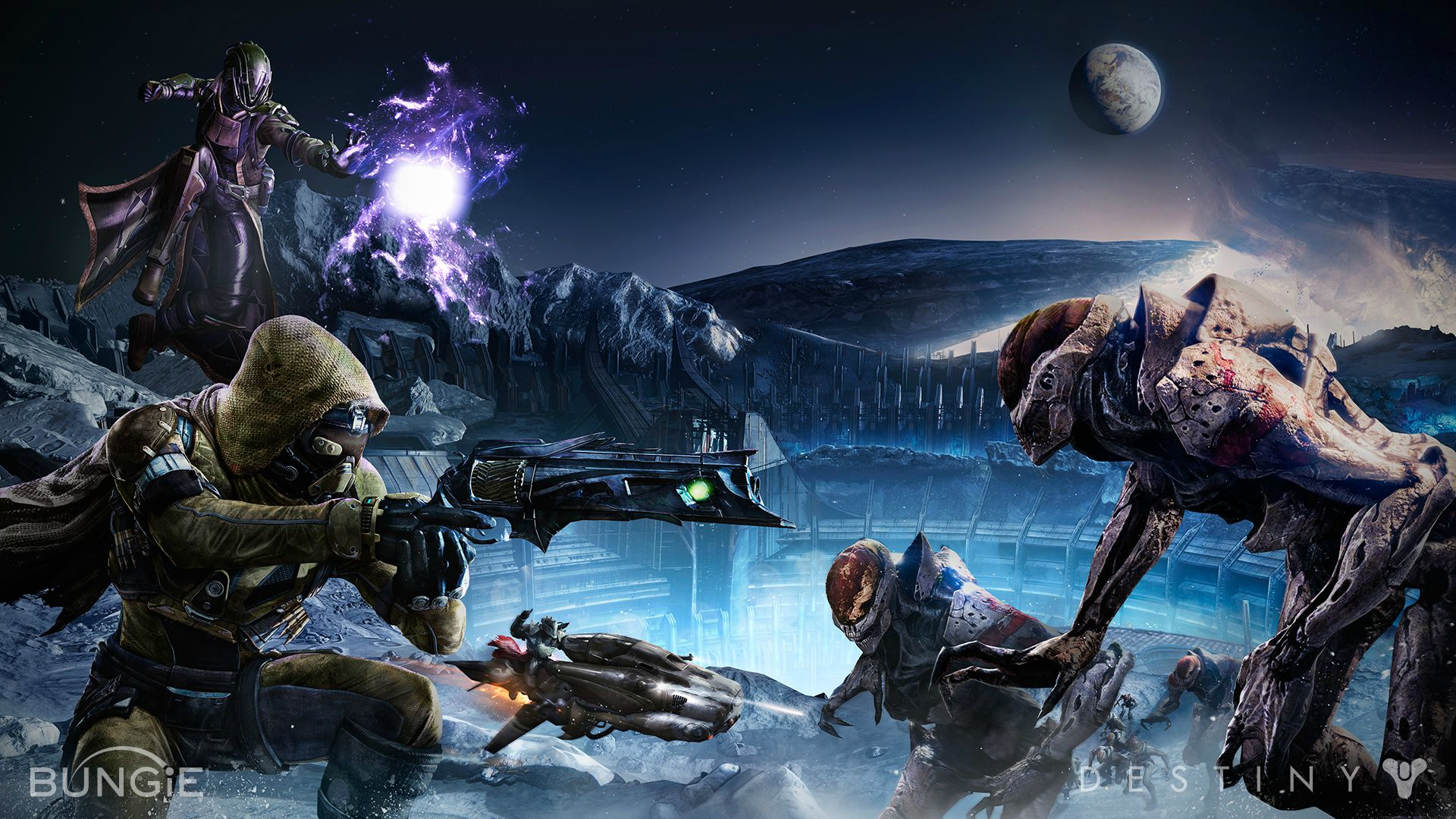 Games Movies Music Anime Destiny   4 New 1080p Wallpapers 1920x1080