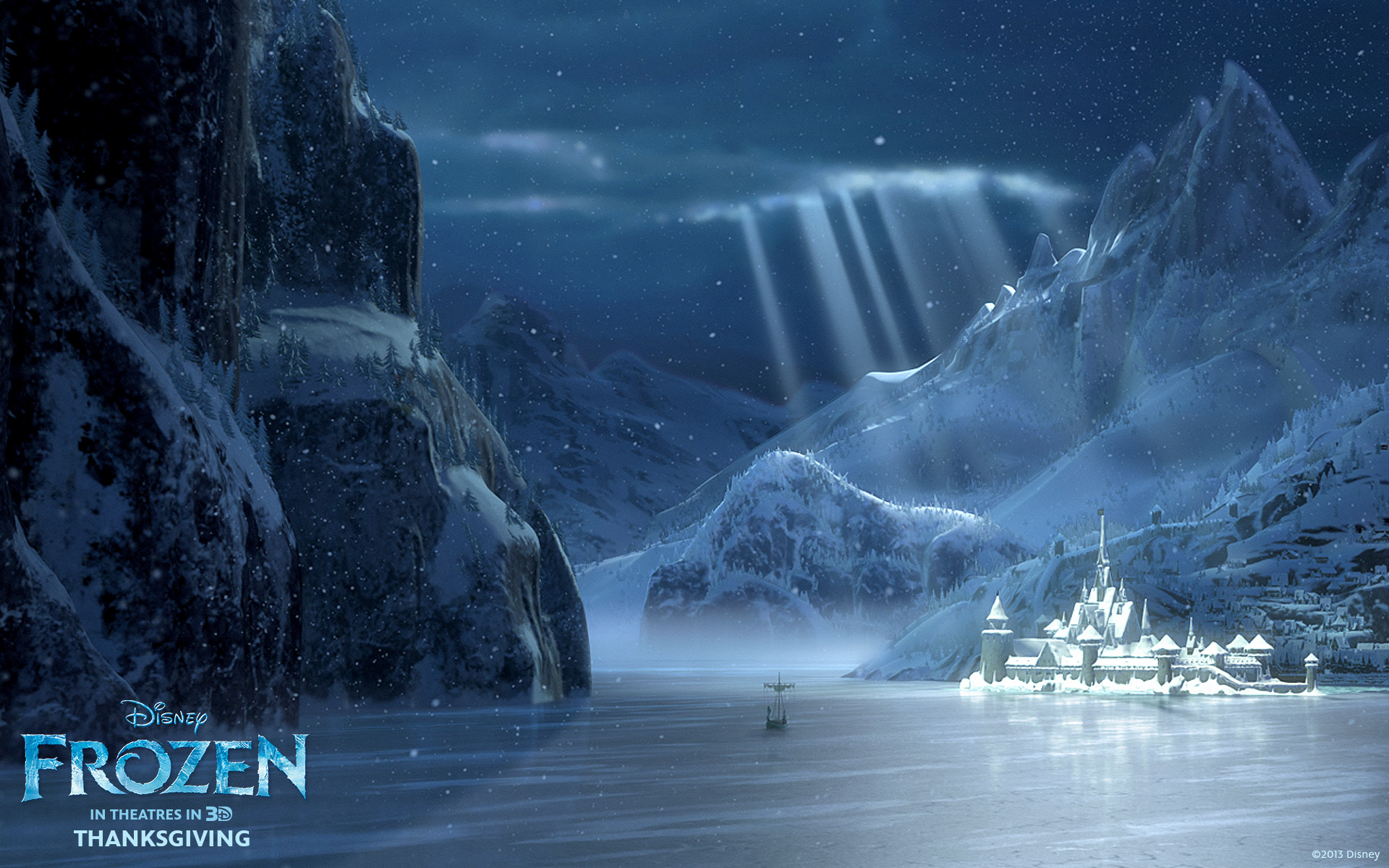Disneys Frozen CG animated movie wallpaper image background picture 1920x1200
