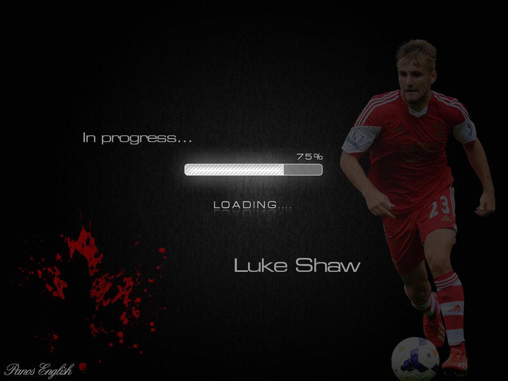 Luke Shaw by PanosEnglish 1024x768