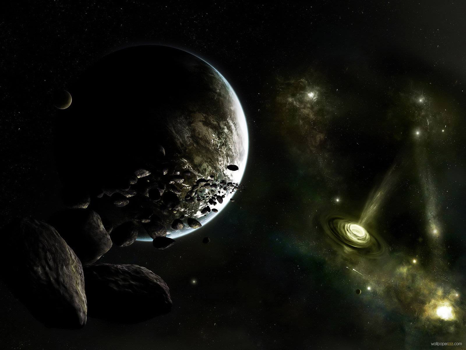 Deep Space Wallpaper Universe and All Planets Pictures 1600x1200