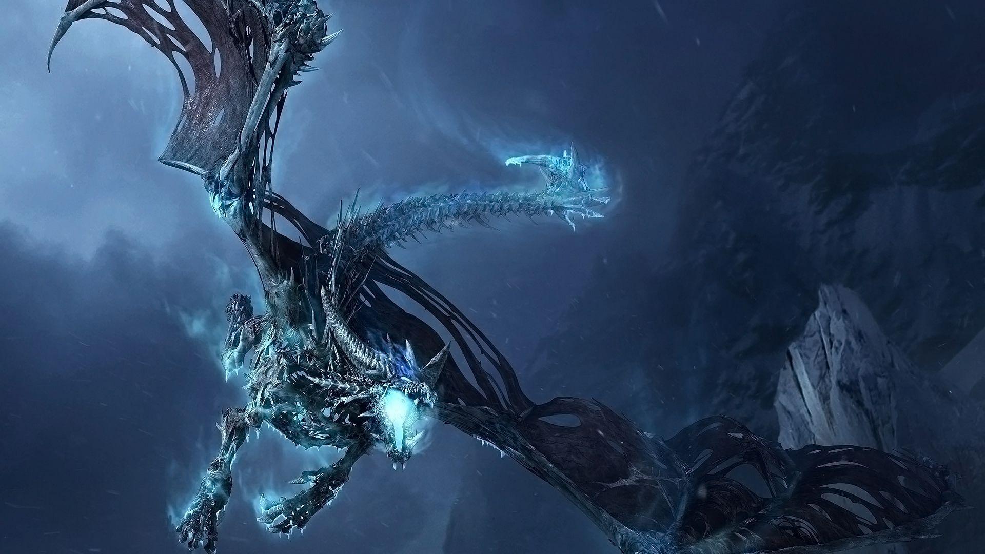 Ice Dragon   World Of Warcraft Wallpaper 1934 1920x1080