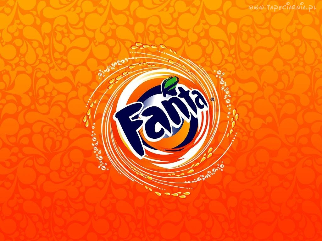 Fanta logo Download PowerPoint Backgrounds   PPT Backgrounds 1024x768