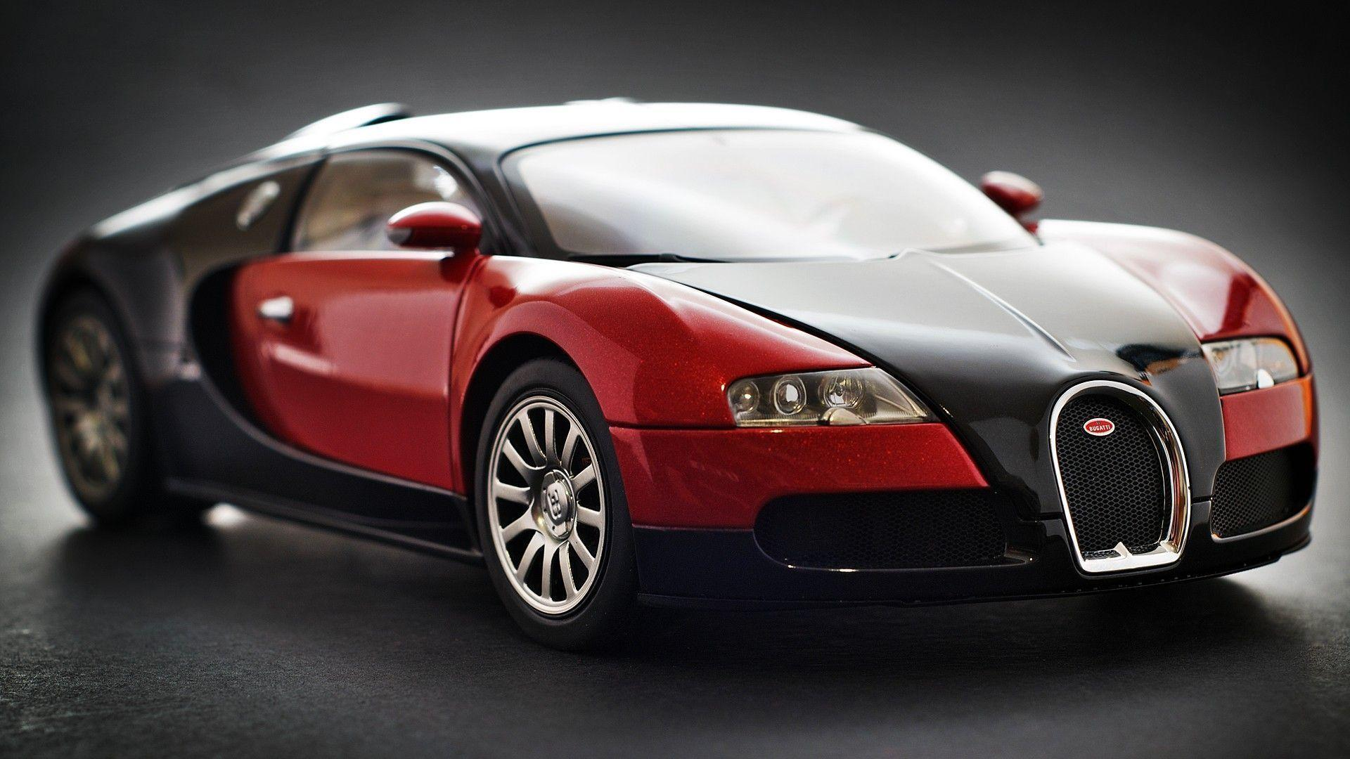 Black Bugatti Veyron Wallpapers 1920x1080