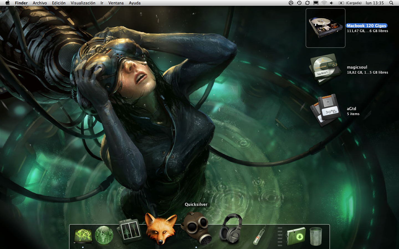 Cyberpunk Desktop by MagicSoul 1440x900