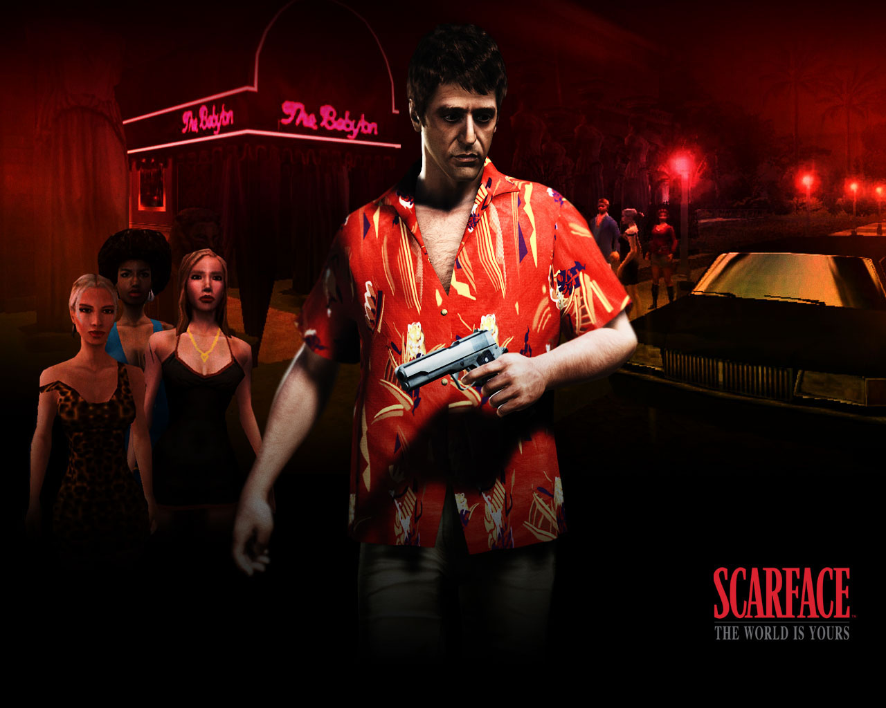 Scarface hd wallpaper wallpapersafari - The world is yours wallpaper ...