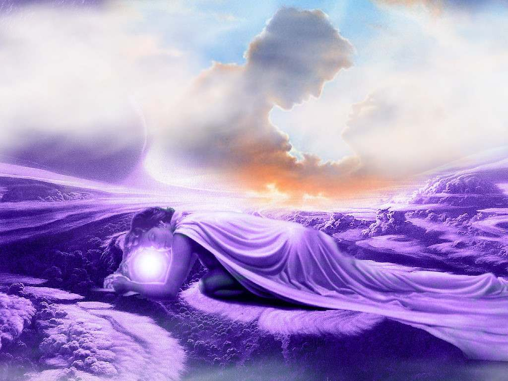 Desktop backgrounds Backgrounds 3D Graphics Dreams in Cloud 1024x768