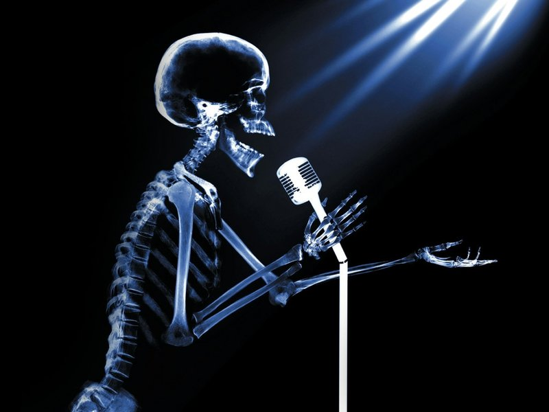 singing x ray Stand Up Abstract 3D and CG HD Desktop Wallpaper 800x600