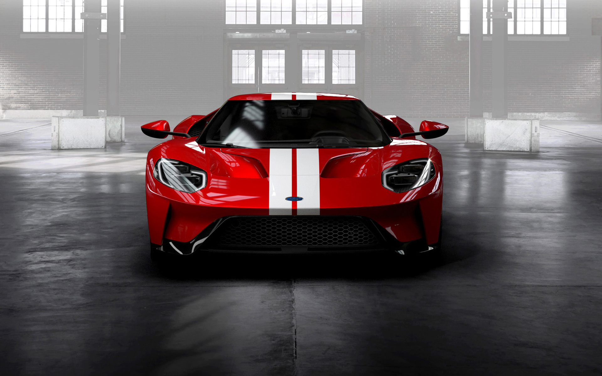 2017 Ford GT Red HD Wallpaper   iHD Wallpapers 1920x1200