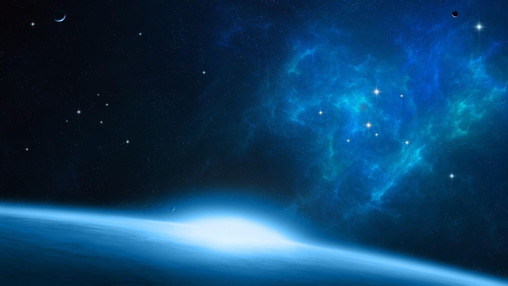 Blue Space Wallpapers 1920x1080