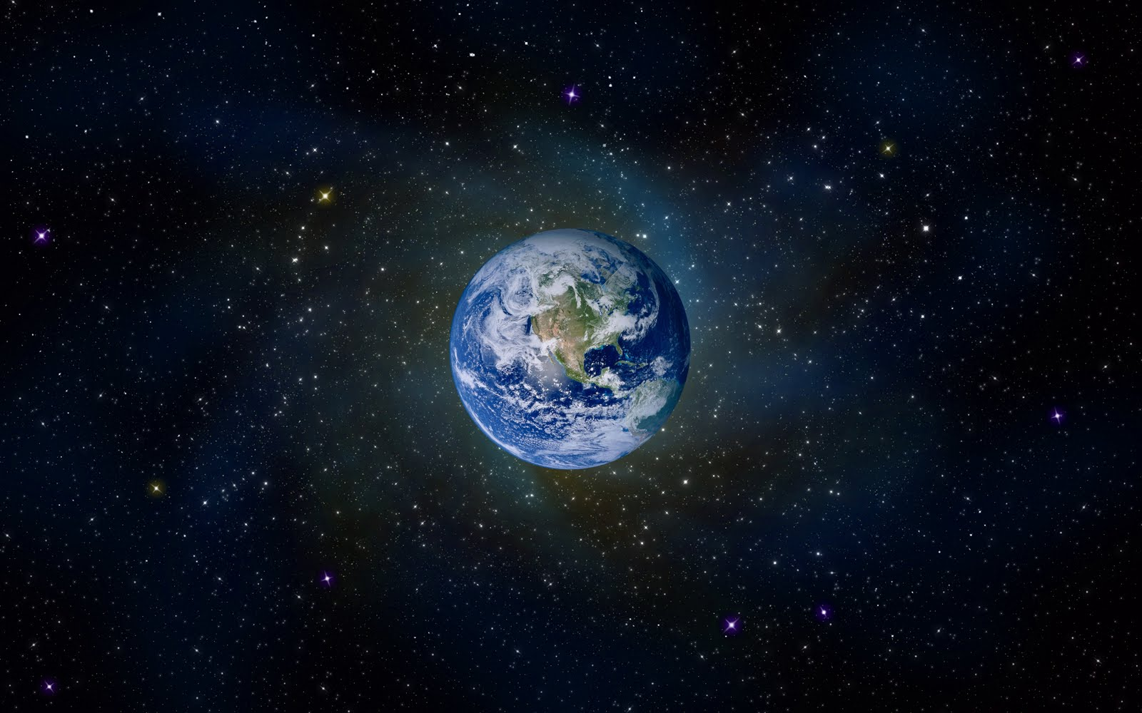 Download Earth In Space HD Wallpaper 2541 Full Size 1600x1000