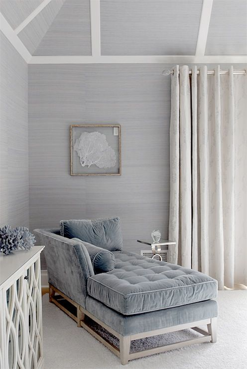 bedroom grasscloth wallpaper Interiors Pinterest 496x740