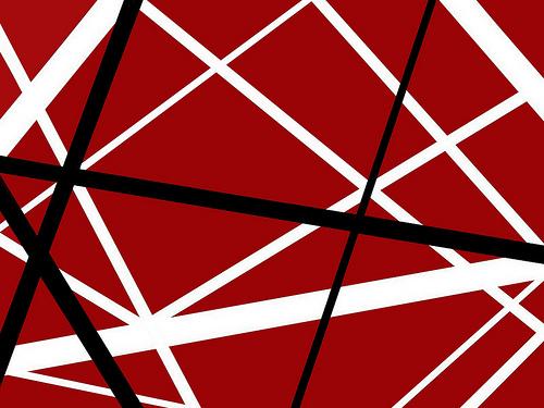 Van Halen Stripes Wallpaper Van halen striped wallpaper 500x375