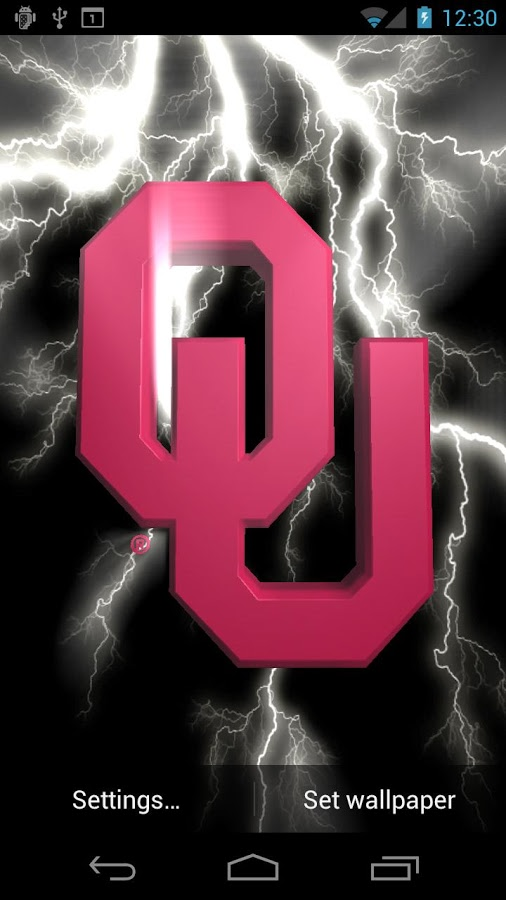 Oklahoma Sooners LWPs Tone   Android Apps on Google Play 506x900