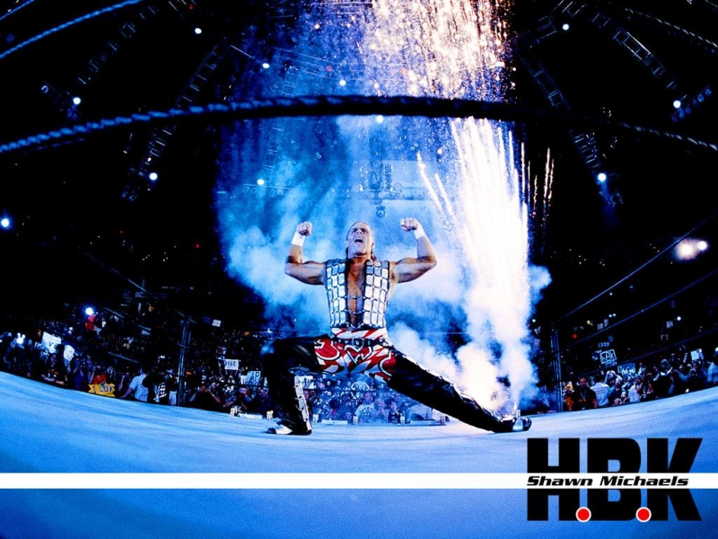 WWE BLOG Shawn Michaels Wallpapers 800x600
