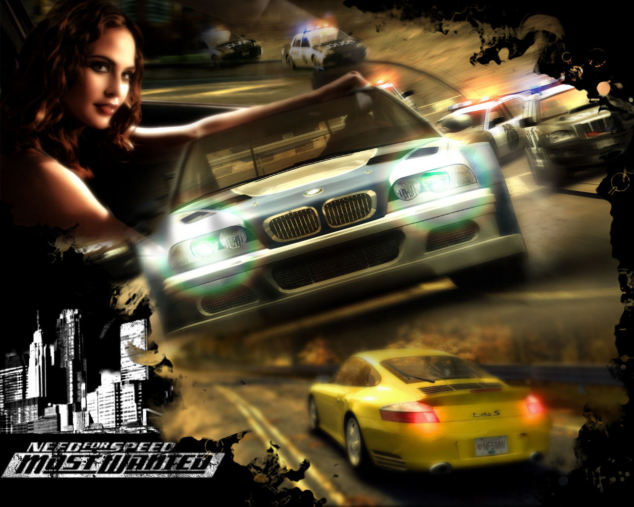 Need For Speed Most Wanted Wallpaper 1280x1024