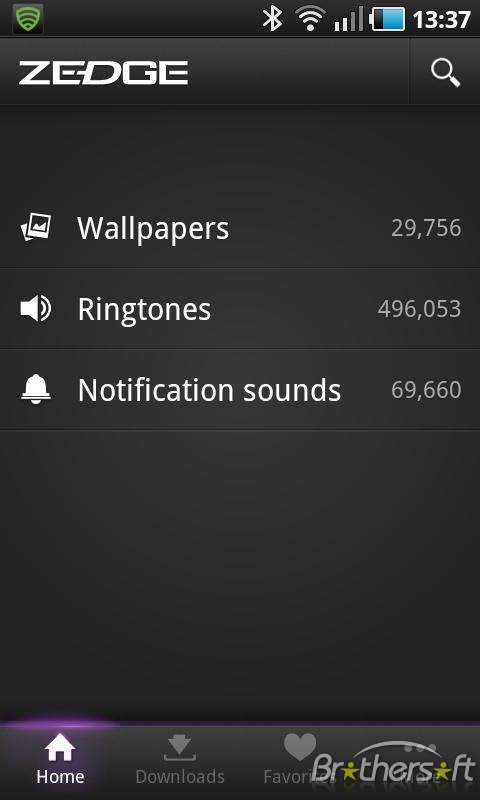Zedge Ringtones and Wallpapers for Android Zedge Ringtones 480x800