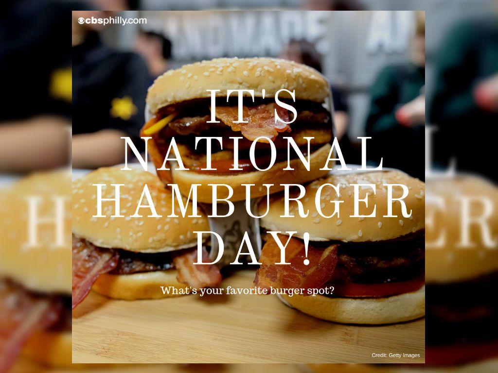 Restaurants Offering Deals For National Hamburger Day CBS Philly 1024x768